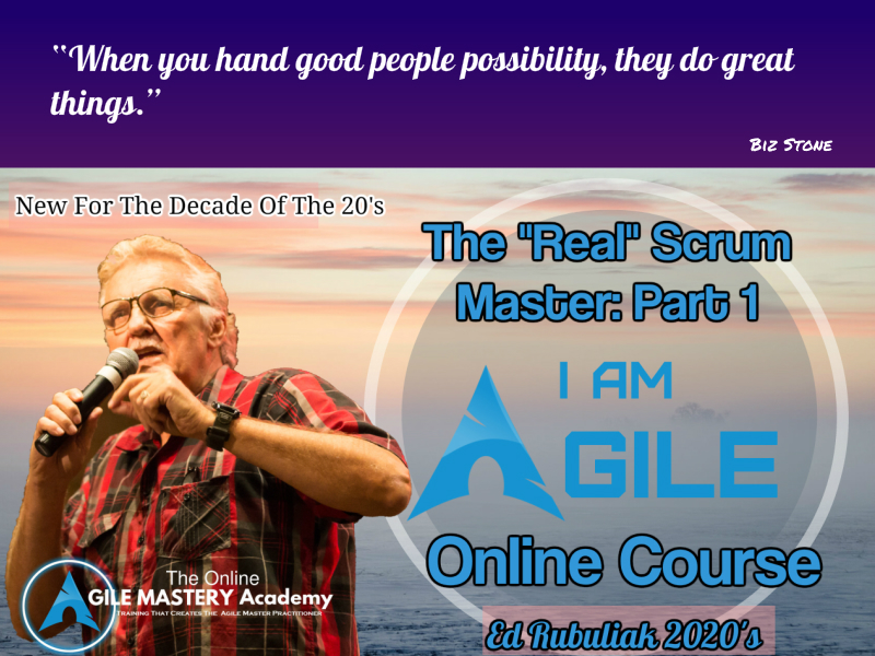 The real Scrum Master;Part 1